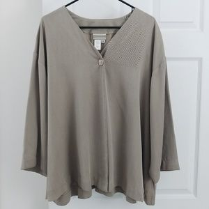 Coldwater Creek taupe jacket